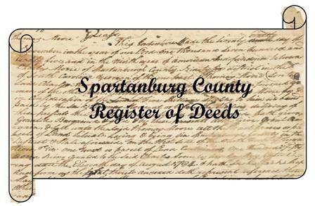 Register Of Deeds Spartanburg County SC - Spartanburg county south carolina on us map