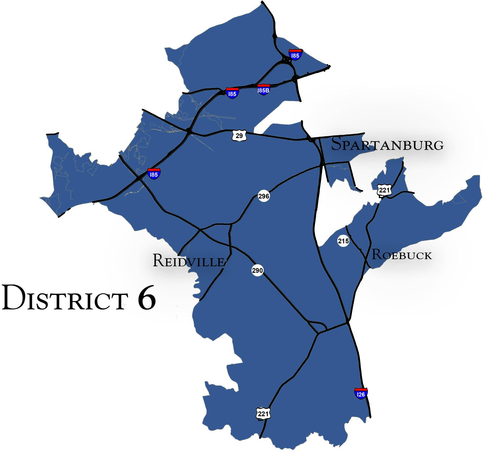 District 6 Map