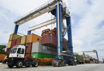 Inland Port record volume