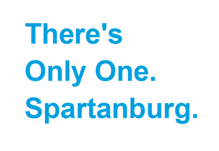 There's Only One Spartanburg